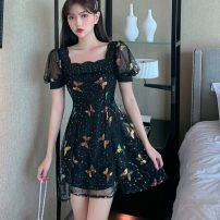 Lace / Chiffon Summer 2020 black S,M,L,XL commute Other / other 989 real shot# 31% (inclusive) - 50% (inclusive)