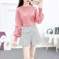 Fashion suit Winter 2020 S,M,L White sweater + black pants, light red sweater + white pants Other / other