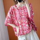 Women's large Summer 2020 shirt singleton  commute easy thin Socket elbow sleeve Korean version Crew neck routine routine Ink 30-34 years old Cotton 60% polyester 35% polyurethane elastic fiber (spandex) 5%