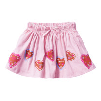 skirt Pink Other / other female Cotton 95% other 5% summer skirt leisure time other Pleats cotton