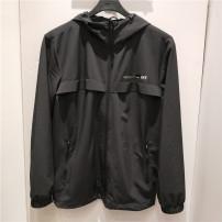 Sports jacket / jacket Erke / hongxingerke male M-165,L-170,XL-175,2XL-180,3XL-185 003 right black Spring 2020 Hood zipper Tennis Tennis Series