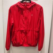 Sports jacket / jacket Erke / hongxingerke female M-160,L-165,XL-170,2XL-175,3XL-180 221 Dongfanghong, 003 zhenghei Spring 2020 Hood zipper Badge, color contrast, gradient, light plate, offset printing Sports & Leisure It's heat-resistant, UV resistant, moisture-resistant, wind resistant, lightweight