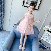 Dress female Shun Yi Bei Er 110cm 120cm 130cm 140cm 150cm 160cm Other 100% summer princess Skirt / vest other other other Class B Summer 2020 3 years old, 4 years old, 5 years old, 6 years old, 7 years old, 8 years old, 9 years old, 10 years old, 11 years old, 12 years old