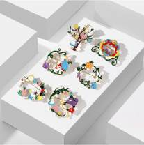 Brooch other RMB 25-29.99 rhao 1,2,3,4,5,6 brand new goods in stock Japan and South Korea lovers Fresh out of the oven Alloy inlaid artificial gem / semi gem Plants and flowers
