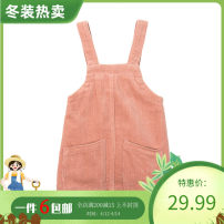 Dress Winter 2020 90,100,110,120,130,140 Mid length dress singleton  Sleeveless commute A-line skirt routine 25-29 years old More than 95% other cotton