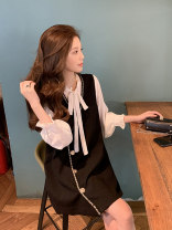 Fashion suit Autumn 2020 S M L XL Vest + shirt two piece set 18-25 years old Dorothy DJL140 96% and above Other 100% Pure e-commerce (online only)