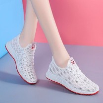 Low top shoes 35 36 37 38 39 40 Domain (clothing) Square head PVC chemical fiber Internal elevation Flat heel (1cm or less) Shallow mouth Two layer pigskin Spring 2020 Youth (18-40 years old) T-strap  leisure time 4c58fba8-0375-45eb-9068-de94d9f6772cJkGay3