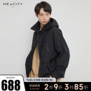 Jacket Me&City Youth fashion 170/92A 175/96A 180/100A routine standard Other leisure Four seasons Long sleeves Wear out stand collar tide youth routine Round hem Closing sleeve Color block Spring 2021 Color matching Same model in shopping mall (sold online and offline) polyester fiber