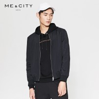 Jacket Me&City Youth fashion 165/88A 170/92A 175/96A 180/100A 185/104B routine standard motion spring Polyamide fiber (nylon) 90% polyurethane elastic fiber (spandex) 10% Long sleeves Wear out Baseball collar Youthful vigor youth routine Zipper placket Rib hem Closing sleeve Solid color nylon