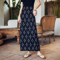 skirt Summer of 2019 S M L XL longuette Versatile High waist other Type H 25-29 years old More than 95% Chiffon Autumn Narcissus polyester fiber Polyester 100% Pure e-commerce (online only)