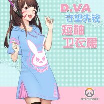 Cartoon T-shirt / Shoes / clothing Watch the vanguard T-shirt Over 14 years old goods in stock DVA dress, DVA image Average code, m [155-170], l [165-180] Summer, spring U.S.A currency Yiman leisure time