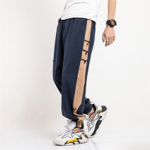 Casual pants Chinka Youth fashion Navy black army green M L XL 2XL 3XL 4XL 5XL thin trousers Other leisure easy summer Chinese style 2020 Cotton 100% Spring 2020 Pure e-commerce (online only)