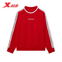 Sportswear / Pullover XS (adult) s (adult) m (adult) l (adult) XL (adult) XXL (adult) XTEP / Tebu White, black, red female Socket Crew neck Winter of 2019 Brand logo letter cotton Sports & Leisure yes