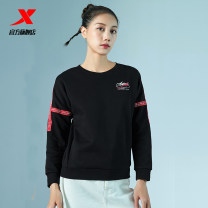 Sportswear / Pullover 2XL XS (adult) s (adult) m (adult) l (adult) XL (adult) XTEP / Tebu female Socket Crew neck Autumn of 2019 Brand logo Sports & Leisure yes
