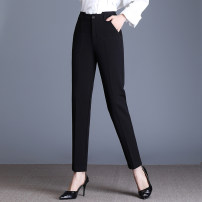 Casual pants Black (summer) 26/S 27/M 28/L 29/XL 30/2XL 31/3XL 32/4XL 33/5XL Summer 2020 Ninth pants Pencil pants High waist commute 71% (inclusive) - 80% (inclusive) SY202009 Su Yong Korean version Three dimensional cutting