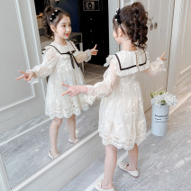 Dress Square neck skirt, short sleeve summer style female Other / other 110cm (suitable for height 100cm), 120cm (suitable for height 110cm), 130cm (suitable for height 120cm), 140cm (suitable for height 130cm), 150cm (suitable for height 140cm), 160cm (suitable for height 150cm) Polyester 100%