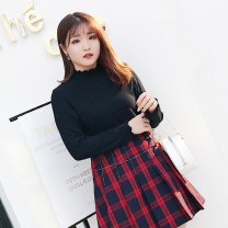 Women's large Autumn of 2018, winter of 2018 White, black, collection plus purchase priority delivery Oversize XL, oversize XXL, oversize XXXXL, oversize XXXXL, [free freight insurance], [genuine product protection], [no reason for return and exchange within 15 days] Knitwear / cardigan singleton