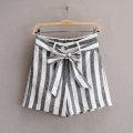 Casual pants Vertical stripe 2,4,6,8,10,12,14,16 Summer 2020 shorts Straight pants Versatile