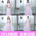Dress / evening wear Weddings, adulthood parties, company annual meetings, daily appointments XXL XXXL XS S M L XL Korean version longuette Fall 2017