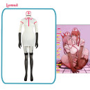 Cosplay women's wear suit Pre sale Over 14 years old Uniform of nurse PavA machima comic XS,S,M,L,XL,XXL Blueberry Lovely wind, Yu Jie fan, animation clothing Chainsaw man Electric saw man PavA cos