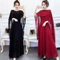 Dress Summer of 2019 White, black, red S,M,L,XL,2XL longuette Two piece set Sleeveless street High waist Solid color zipper Big swing routine camisole 25-29 years old Panel, zipper 51% (inclusive) - 70% (inclusive) Chiffon Europe and America