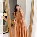 Dress Summer 2020 Average size [spot], average size [about 7 days scheduled] longuette Short sleeve commute High waist Korean version 81% (inclusive) - 90% (inclusive)