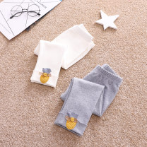 trousers Other / other female 73cm tag 80, 80cm tag 90, 85CM tag 100, 90cm tag 110, 95cm tag 120 White, gray spring and autumn trousers fresh No model Leggings Leather belt middle-waisted cotton Open crotch Class A 3 months, 12 months, 6 months, 9 months, 18 months, 2 years old, 3 years old