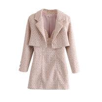 Fashion suit Spring 2021 S,M,L Top, skirt Cotton Village 81% (inclusive) - 90% (inclusive)