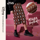 skirt Winter 2020 S M L Mid length dress commute Natural waist skirt Cartoon animation Type O 18-24 years old 31% (inclusive) - 50% (inclusive) other Elf sack / goblin's pocket acrylic fibres Retro