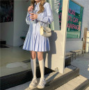 Dress Spring 2021 Suit, coat, dress Average size Short skirt Two piece set Long sleeves Polo collar Pleated skirt shirt sleeve 18-24 years old Type A 31% (inclusive) - 50% (inclusive)