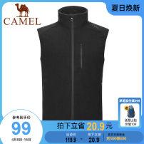 Vest / vest other Camel S M L XL XXL XXXL A0w245176 ink blue men's a0w245176 phantom black men's a0w145177 phantom black women's a0w145177 light gray women's Other leisure Self cultivation Vest routine stand collar youth NA0W245176 Solid color zipper Polyester 100% Autumn 2020