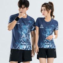 Badminton wear For men and women S M L XL XXL XXL larger Peggy cool Football suit Summer 2020