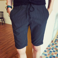 Casual pants Others Youth fashion Basic color (black, gray, white, etc.) 28/M 29/L 30/XL 31/XXL 32/XXXL 33/4XL 34/5XL thin Shorts (up to knee) summer