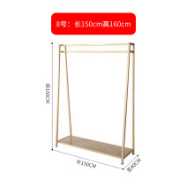 Clothing display rack clothing iron H018 Official standard
