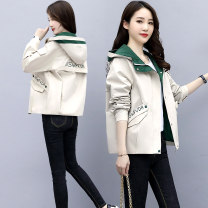 short coat Autumn 2020 S M L XL Off white, dark green, pink Long sleeves have cash less than that is registered in the accounts routine singleton  easy Versatile routine Hood zipper Solid color 25-29 years old Ouginku / oujinkou 96% and above OJK-2026 other Other 100% Pure e-commerce (online only)