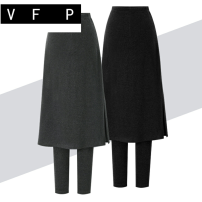 Casual pants Black without velvet dark grey without velvet black with velvet dark grey with velvet M L XL 2XL 3XL 4XL 5XL 6XL Winter of 2019 trousers Pencil pants High waist commute thickening 35-39 years old 81% (inclusive) - 90% (inclusive) Y4007O VFP Korean version Pure e-commerce (online only)