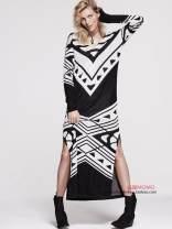Dress Spring 2021 Black + white grey, dark grey Xs, s, m, l, XS, s, m, m and l