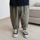 trousers Le Yue Lue male 80cm,90cm,100cm,110cm,120cm,130cm,140cm,150cm spring and autumn trousers solar system There are models in the real shooting Casual pants Leather belt middle-waisted Don't open the crotch Two, three, four, five, six, seven, eight, nine Chinese Mainland Zhejiang Province