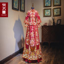 cheongsam Winter of 2019 S M L XL 2XL 3XL Women's and men's Retro wedding 18-25 years old Embroidery He Dazhi other New polyester 99% other 1% Pure e-commerce (online only)