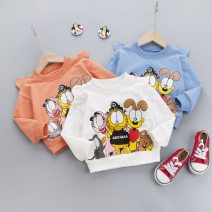 T-shirt Other / other 80cm,90cm,100cm,110cm,120cm neutral spring and autumn Long sleeves Crew neck leisure time No model nothing cotton Cartoon animation Cotton 95% polyurethane elastic fiber (spandex) 5% Class A Sweat absorption 6 months, 12 months, 9 months, 18 months, 2 years, 3 years, 4 years