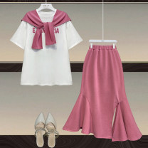 Fashion suit Summer 2021 S,M,L Pink white, black and white