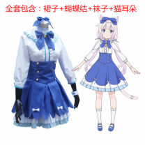 Cosplay women's wear suit goods in stock Over 14 years old full set comic S,M,L,XL,XXL,XXXL other Maid Dress Chocolate and vanilla 4