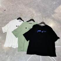 Women's large Spring 2021, summer 2021 Black, white, green Chest 126, length 69 [120-200] Other / other