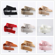 Belt / belt / chain cloth female Other styles Versatile Single loop Youth, youth, middle age Smooth button soft surface 2.8cm alloy alone