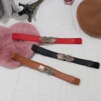 Belt / belt / chain Pu (artificial leather) Red, black, camel 3cm