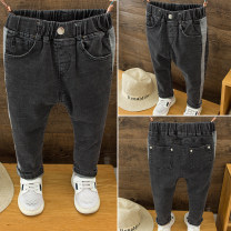 trousers Deer bend male 90cm,100cm,110cm,120cm,130cm White jeans spring and autumn trousers leisure time No model Jeans Leather belt middle-waisted Denim Don't open the crotch White jeans Class B 2 years old, 3 years old, 4 years old, 5 years old, 6 years old, 7 years old Chinese Mainland Huzhou City