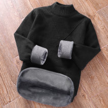 T-shirt / sweater Mingshan town Youth fashion M/170 175/L 180/XL 185/2XL 190/3XL 195/4XL thickening Socket Half high collar Long sleeves M8M18103 winter Slim fit 2020 Cotton 100% leisure time Basic public youth routine Solid color Winter of 2018 washing Coarse wool (8, 6) Pure cotton (95% above)