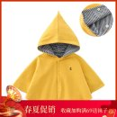 Cape / Cloak No detachable cap neutral spring and autumn cotton routine Korean version Solid color Single breasted Cotton 10% others 90% Class B