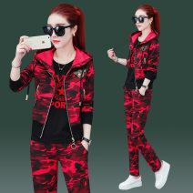 Casual suit Spring 2021 Green red M L XL XXL XXXL 4XL YhNHFAEs_ QG8Xy Diefulun cotton Cotton 100%