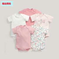 Jumpsuit / climbing suit / Khaki BABY OSCAR`S Class A currency 66cm (3-6M) newborns are less than 9kg, 73cm (6-9M) newborns are less than 11kg, 80cm (9-12M) newborns are more than 13kg, 85CM (12-18m) newborns are more than 17kg, 90cm (18-24m) newborns are more than 20kg cotton summer Short sleeve